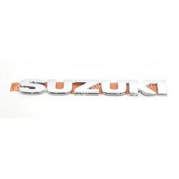 Emblema trasero cromado SUZUKI