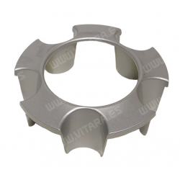 Embellecedor Central Tapa de Aluminio. Delantero