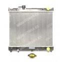 Radiador de refrigeración de motor. 375x485 mm