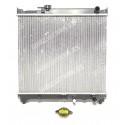 Radiador de refrigeración del motor. 425 x 485 mm