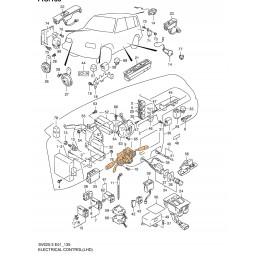 Mando de Luces e Intermitencia 37400-77EJ0