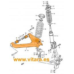 Brazo de suspensión izquierdo Vitara