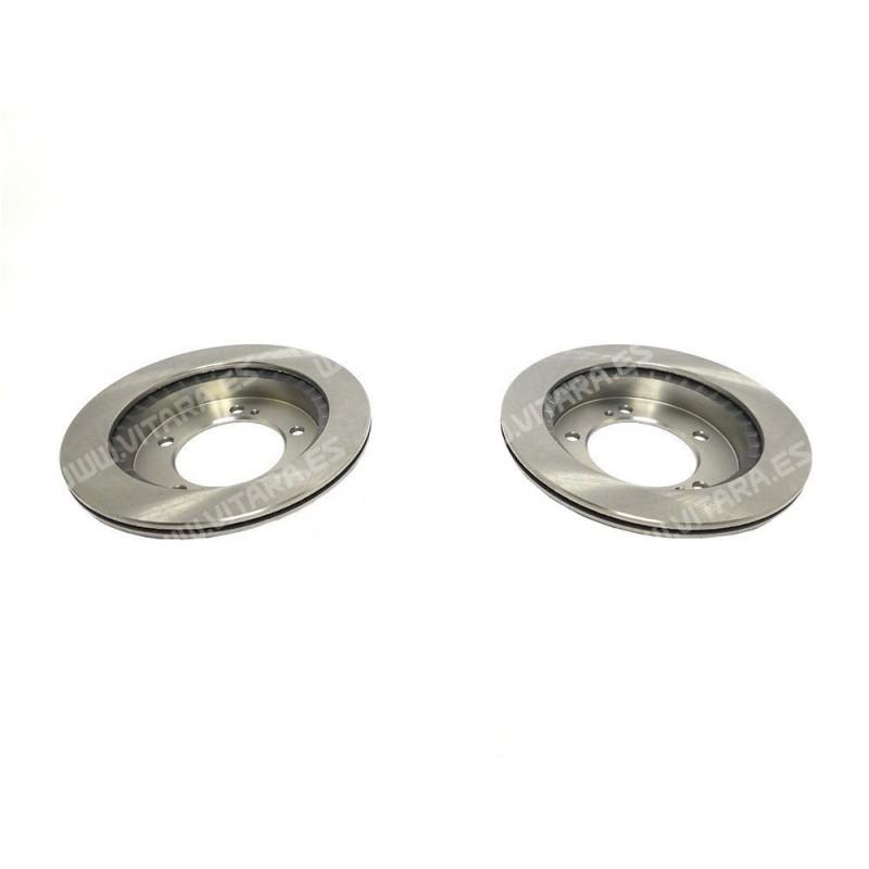 Discos de freno ventilados
